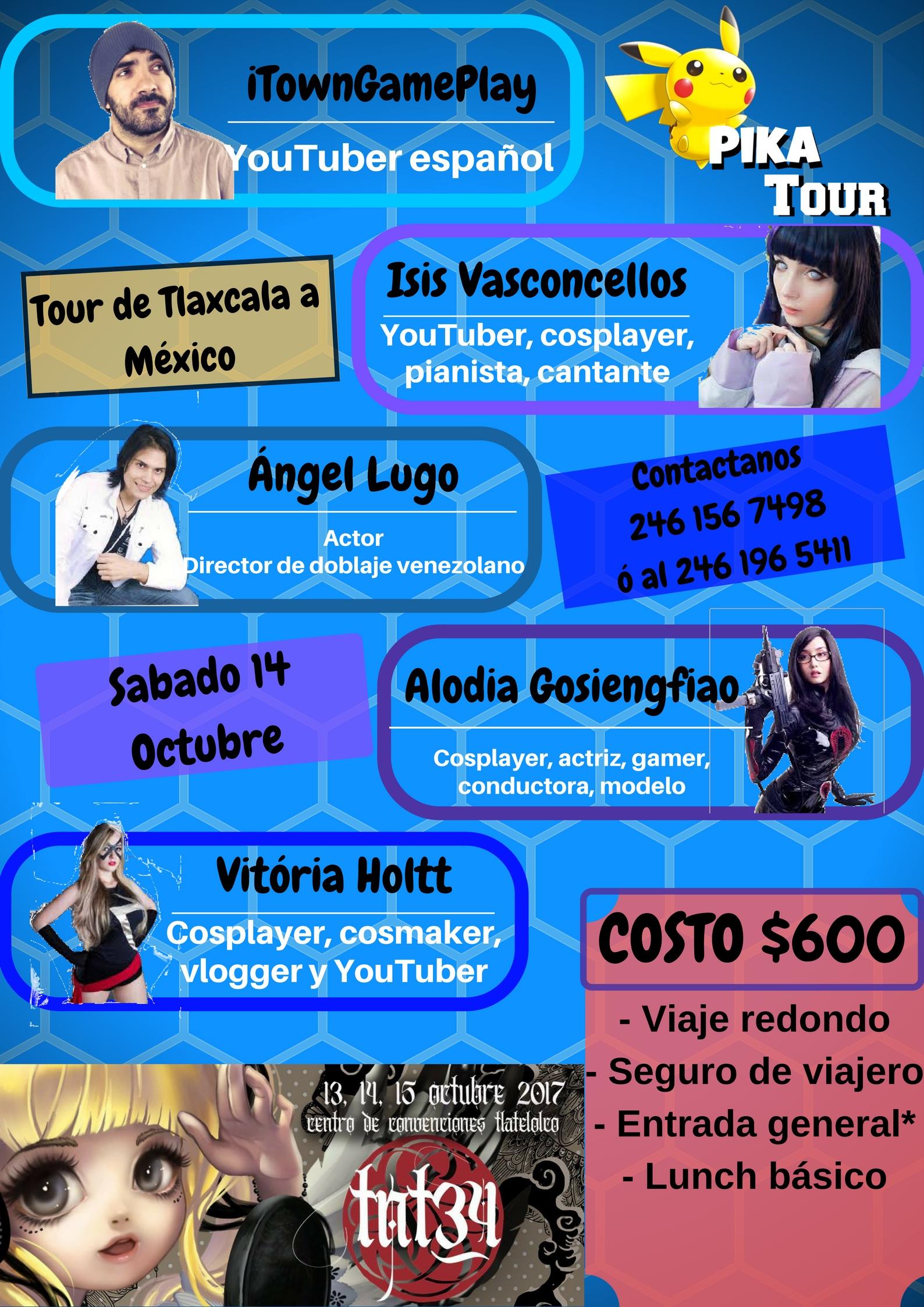 Tour desde Tlaxcala a Expo TNT 34