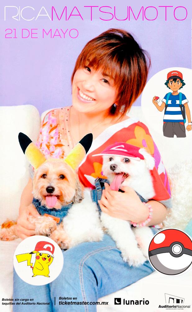 Acude a Súper Manga y llévate una cortesía para el concierto de Rica Matsumoto en la compra un boleto